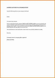 How to write an authorization letter Authorization Letter Pdf