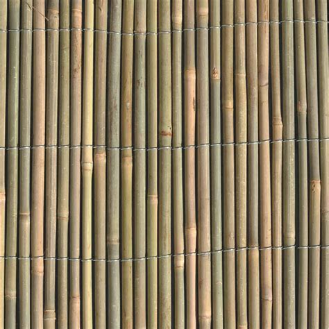 garden trend     bamboo screen fencing