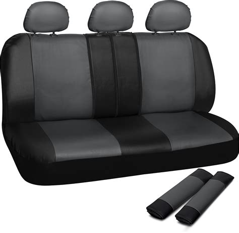 truck seat covers  auto ford  bench grey black