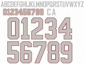 Official canadian olympic hockey name number kits for Hockey jersey lettering kit