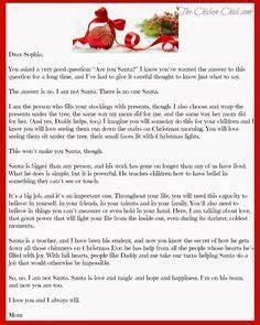 Greg Olsen Poem Santa & Jesus Christ