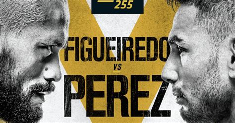 Кард турнира UFC 255: Фигейреду - Перез