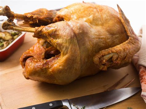 fried turkey deep recipe recipes juicy frying basic skin fryer wasik vicky oil meat crispy hallmarks photograph seriouseats potato