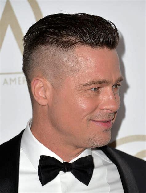 Brad Pitt Undercut Hairstyle