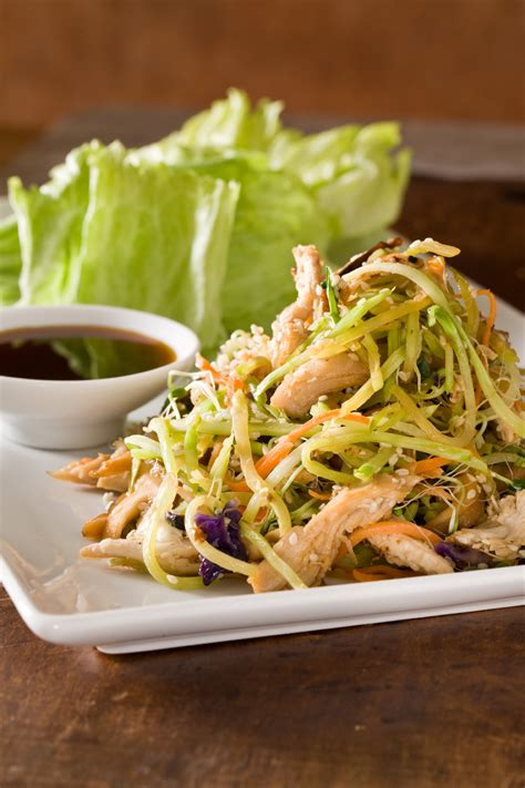 crispy vegetable lettuce wraps recipe relish