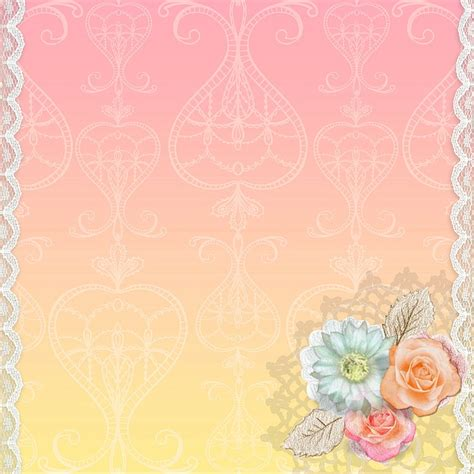 illustration background swirl pink lace