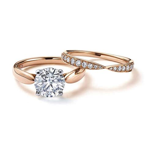 Tiffany Has Captured Our Hearts With Its Rose Gold. Spiritual Engagement Wedding Rings. Fools Gold Wedding Rings. Small Hand Wedding Rings. Active Rings