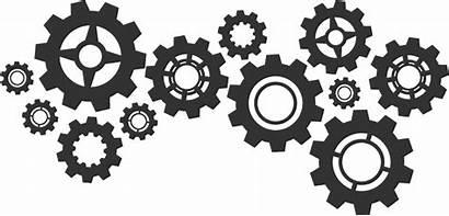 Cogs Turning Wheels Tandwielen Machine Ict Gears
