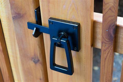 Modern Gate Latch With Tapered Ring In 2019