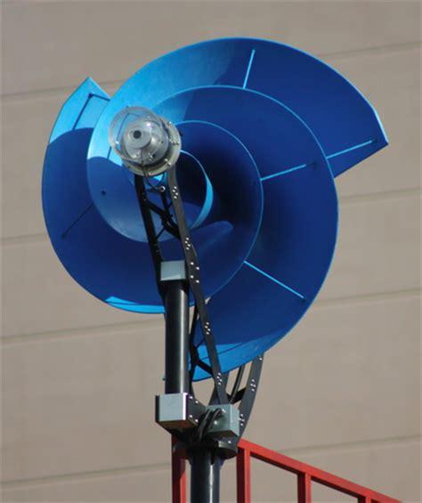 nautilus shaped wind turbine
