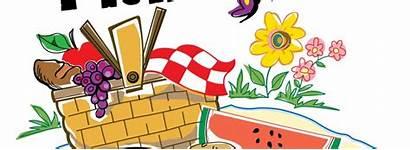 Picnic Clipart Church Games Outdoor Clip Potluck