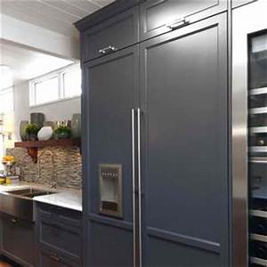 Integrated Refrigerators That Look Like Cabinets Fridge