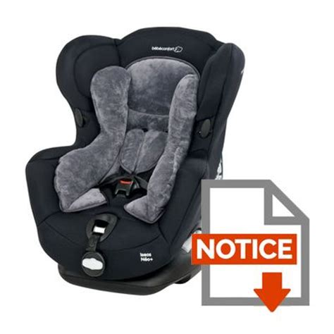 siege auto bebe inclinable bebe confort si 232 ge auto is 233 os n 233 o groupe 0 achat
