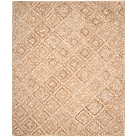 rugs for kitchen floor safavieh fiber beige 8 ft x 10 ft area rug 4950