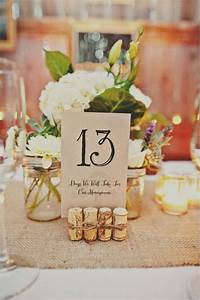 top 10 diy wedding table number ideas with tutorials With wedding table number ideas