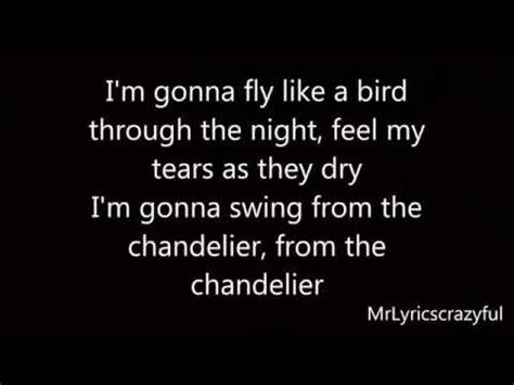 chandelier lyrics buzzpls