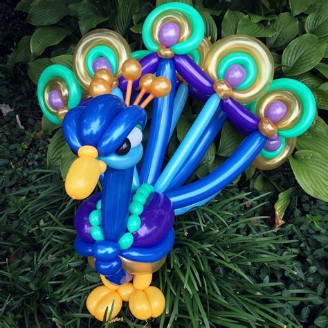 day   peacock balloonanimals daychallenge