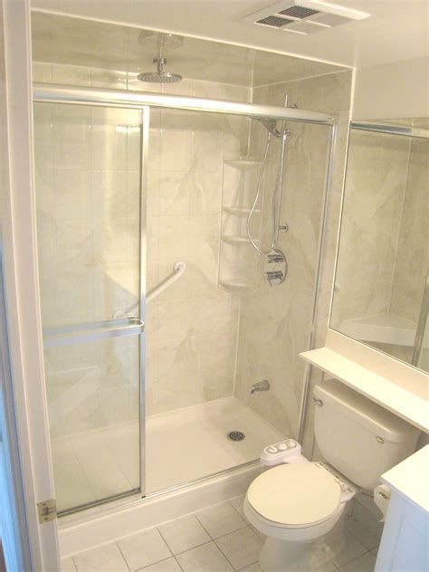 Tub to Shower Conversions by Lampert Renovations in Toronto