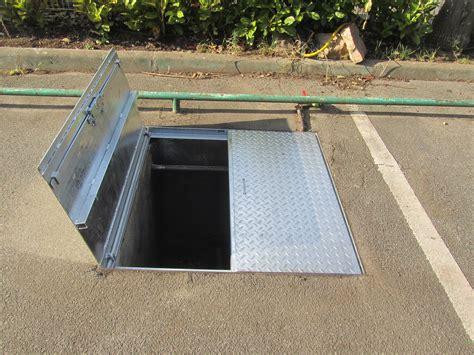 trappe de visite sol exterieur trappe acier scadametal