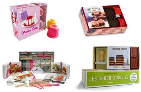 coffret livre de cuisine idées cadeau les coffrets cadeau cuisine pâtisserie