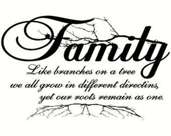 roots run deep family reunion tree clipart family