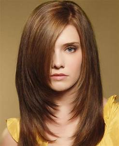 Coupe Dégradé Long : photo coupe de cheveux mi long degrade ~ Dallasstarsshop.com Idées de Décoration