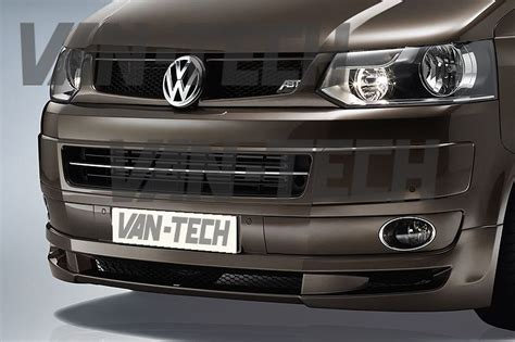 vw transporter t5 1 front lower bumper spoiler splitter 2010 tech