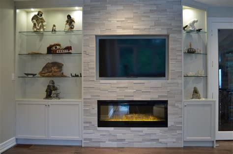 diy fireplace update with built in shelves on each fireplace remodel ideas the best fireplace remodeling