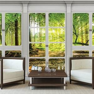 Fototapete Fenster Aussicht : poster tapeten fototapete wand bild ausblick fenster natur ~ Michelbontemps.com Haus und Dekorationen
