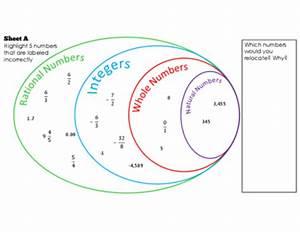 Rational Number Venn Diagram-Find the Error