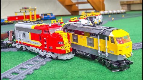 Mega Lego® Train Crash And Action Compilation!