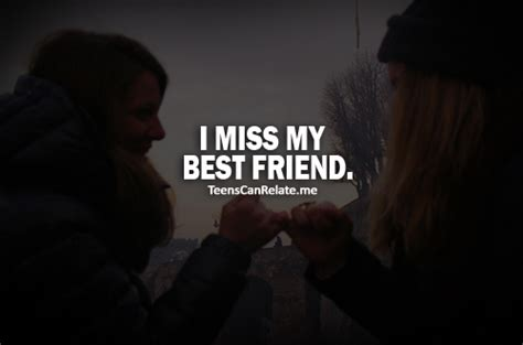very sad best friend quotes