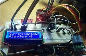 Temperature Detecting Heating Control System With Arduino