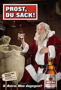 Weihnachten Bier Sprüche : prost du sack astra st t auf weihnachten an ~ Haus.voiturepedia.club Haus und Dekorationen