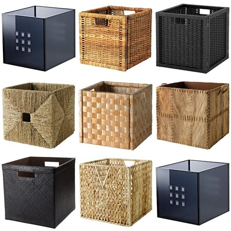 Ikea Expedit Box by Ikea Boxes Baskets Dimensioned To Fit Expedit Shelving