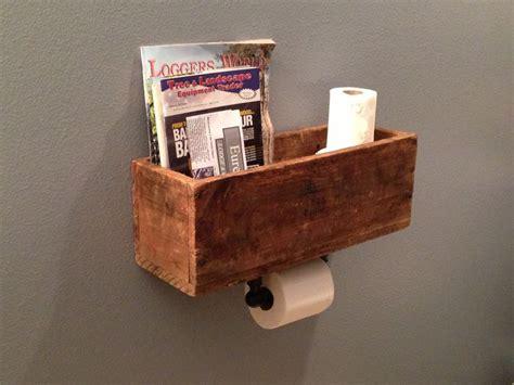 diy magazine rack for bathroom diy magazine rack toilet paper dispenser diy pinterest