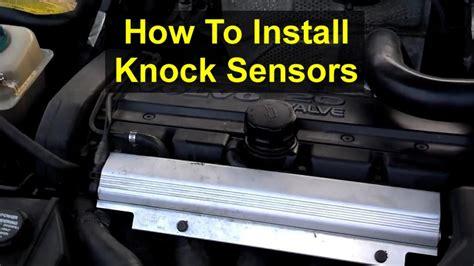 knock sensor installation  volvo white block engines