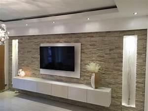Wand Mit Steinen : gro artig w nde mit steinen gestalten best 25 steinwand ~ Michelbontemps.com Haus und Dekorationen