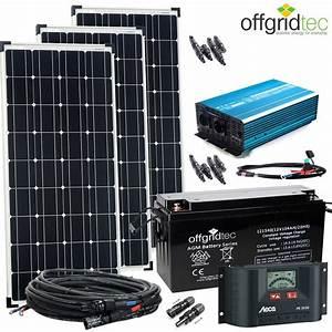 Solar Inselanlage Berechnen : 12v solaranlage autark xl master 300w solar 1500w ac ~ Themetempest.com Abrechnung