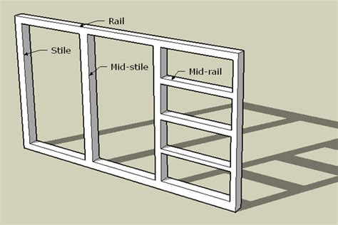 kitchen cabinet frame kitchen cabinet rails and stiles cabinets matttroy 2511