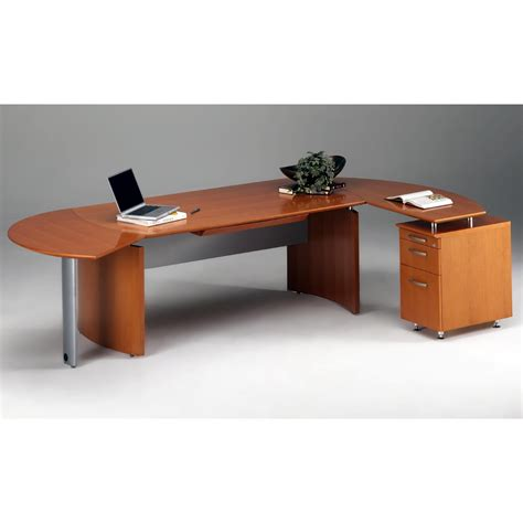 modern computer desk with hutch modern brown particle wood computer desk with metal legs