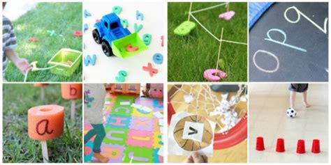 Alphabet Activities That Get Kids Moving
