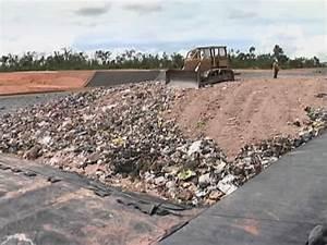 The modernized sanitary landfill in full operation ...