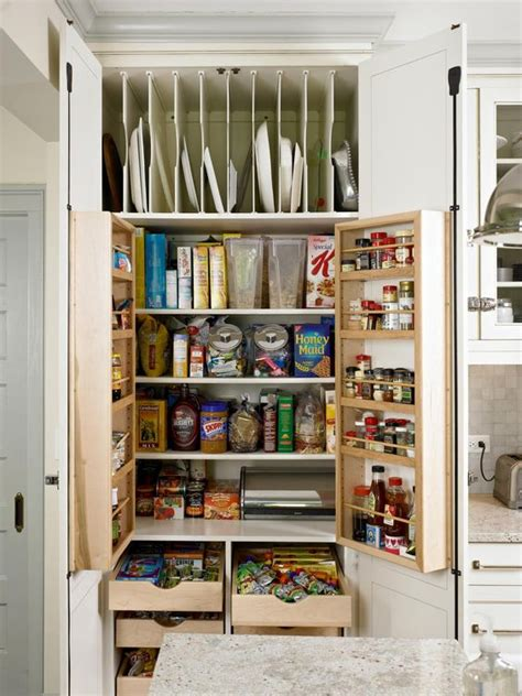 plate storage small pantry  islands  pinterest