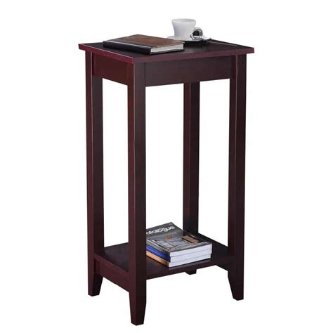 End Tables For Bedroom by Wooden End Table For Bedroom Living Room Borkut