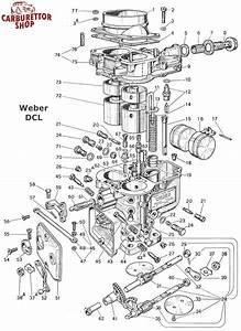 Weber Dcl Carburetor Parts