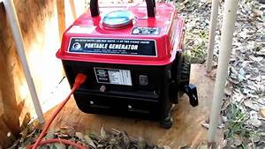 Harbor Freight Storm Cat 60338 Generator Review