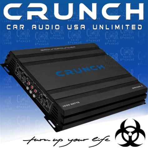crunch gpx 1000 4 crunch gpx 1000 4 1000 w 4 kanal kompakt verst 228 rker ebay