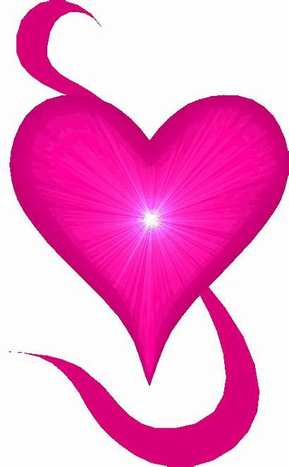 Heart Hearts Animated Glitter Pink Clipart Sparkle