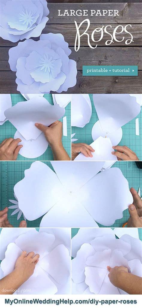diy giant paper flowers giant paper flowers paper